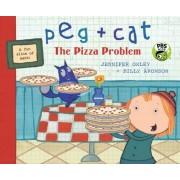 Peg + Cat: The Pizza Problem, Paperback