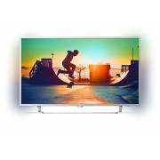 Televizor LED Philips 43PUS6412/12, 108 cm, Smart, Ultra HD 4K, Android, Argintiu