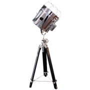 Maxwhite Lampa retro M018F - lampa na stativu - světlo designové - lampa designová