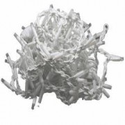 Perdea luminoasa decorativa 200 LED lungime 5 m lumina statica lumina alb rece Home