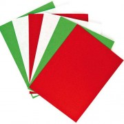 Baker Ross Festive Felt Sheets Value Pack (Pack of 10)