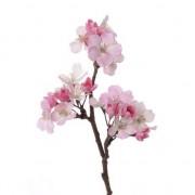 Bellatio flowers & plants Roze kunstbloemen appelbloesem tak 36 cm