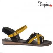 Sandale dama, din piele naturala 258310/Galben/Elis