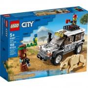 Lego set de construcción lego city auto todoterreno de safari 60267
