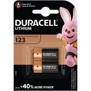 Duracell Pack double pile Duracell Ultra (DL123-X2)