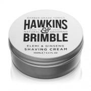 Hawkins & Brimble Cremă hidratantă de ras cu miros de elemi si ginseng (Elemi & Ginseng Shaving Cream) 100 ml