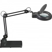 MAUL LED-Lupenleuchte MAULviso mit Standfuß schwarz