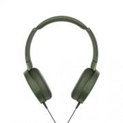 Slúchadlá SONY EXTRA BASS MDR-XB550AP, zelené