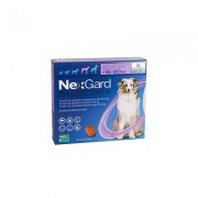 Nexgard Spectra Tab Large Dog 33-66 Lbs Purple 3 Pack