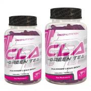 TREC NUTRITION - CLA + GREEN TEA zsírégető Gélkapszula kíméletes és tartós fogyásért 180db