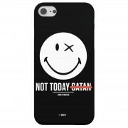 Smiley Funda Móvil Smiley World Slogan Not Today Satan para iPhone y Android - iPhone 6 Plus - Carcasa rígida - Mate
