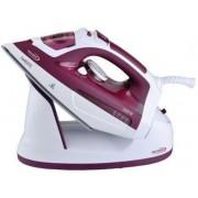 Fier de calcat Hauser SI-6260R, 2600 W, Talpa Ceramica (Rosu/Alb)