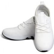 Hush Berry Genuine Mens Athletic Running Shoes Tennis Shoe Walking Shoes For Men(White)