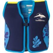 Vesta inot copii cu sistem de flotabilitate ajustabil Konfidence The Original blue palm 4-5 ani