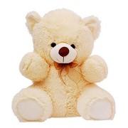 RT SOFT TOYS GIANT TEDDY Life Size Stuffed Teddy Bear/Stuffed Spongy Hugable Cute Teddy Bear Cuddles Soft Toy For Kids Birthday / Return Gifts Girls Lovable Special Gift High Quality CREAM 2 feet (60 cm)