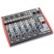 Power Dynamics PDM-L605 Mixer 6 canaux USB AUX MIC +48V