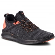 Обувки PUMA - Ignite Flash EvoKnit Unrest 191593 01 Puma Black/Shocking Orange