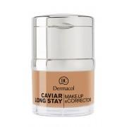 Dermacol Dlouhotrvající make-up s výtažky z kaviáru a zdokonalovací korektor (Caviar Long Stay Make-Up & Corrector) 30 ml 2 Fair