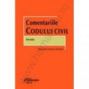 Comentariile Codului civil. Donatia