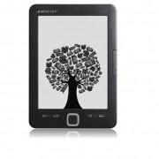 "Alcor Myth 6"" E-Ink E-Book olvasó - fekete"