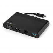 StarTech Adaptador Multipuertos USB-C/HDMI/VGA/USB/GbE