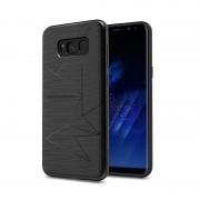 Husa din silicon cu functie magnetica Nillkin Magic Case Samsung S8, Negru
