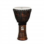 "Toca Percussion Freestyle II Djembe TF2DJ-9SC 9"", Rope, Spun Copper"