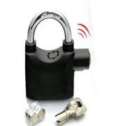Flynn Steel Metallic Secure Anti Theft Motion Sensor Alarm Lock For Home Office And Bikes Lock