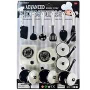 New Pinch Chef Kitchen Ware Set For Kids(black white)