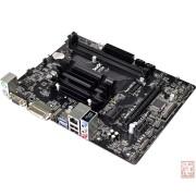 ASRock J3455M, Intel Celeron J3455 1.50GHz, 2xDDR3, PCI-Ex16, VGA/DVI/HDMI/USB3.0, mATX