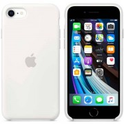 Apple Custodia Apple In Silicone Per Iphone Se - Bianco