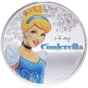 Disney Classics Coin Collection - Cinderella Silver Plated Coin in Capsule Box