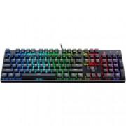 Клавиатура Redragon Devarajas, гейминг, LED подсветка, механична, черна, USB