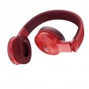 HEADPHONES, JBL E45BT, Bluetooth слушалки с микрофон за мобилни устройства, Red