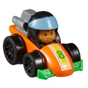 Fisher Price Little People Wheelies Race Car And Koby