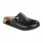Birkenstock Super Grip Professional Boston Clog Black - Size 38 Size: 38