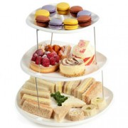 Fozzils Twistfold Fold Flat 3 Tier Party Plate