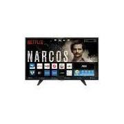 Smart Tv Led 39'' Aoc Le39S5970 Hd Com Wi-Fi 2 Usb 3 Hdmi Tv Digital Controle Com Botão Netflix
