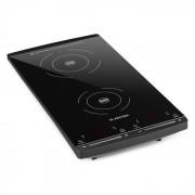 VariCook Slim Placa de Indução Com 2 Discos 2900W 60-240 °C Preta