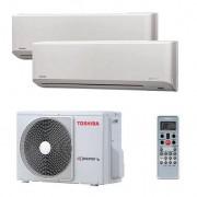 Toshiba Мульти сплит-система Toshiba RAS-B10N3KV2-E+RAS-B13N3KV2-E