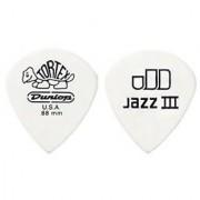 Jim Dunlop 478R1.14 Tortex White Jazz III 1.14mm 72/Bag
