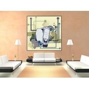 Tablou canvas vintage design - cod F02