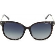 Polaroid Cat-eye Sunglasses(Grey)