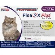 Flea5X Plus - Generic to Frontline Plus 12pk Cats by Sargeant's