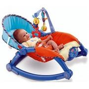 Bonkerz Newborn-to-Toddler Portable Rocker Chair Easy to Take Along