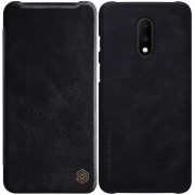 NILLKIN Qin Series PU Leather+PC Card Holder Case for OnePlus 7 - Black