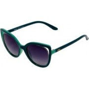 Enrico Cat-eye Sunglasses(Violet)