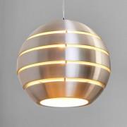 Lucide Lámpara colgante Volo esférica de aluminio, 40 cm