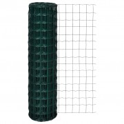 vidaXL Euro Fence 25 x 1.5 m with 100 x 100 mm Mesh