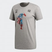 Tricou barbati adidas Performance Marvel Captain America DM7765